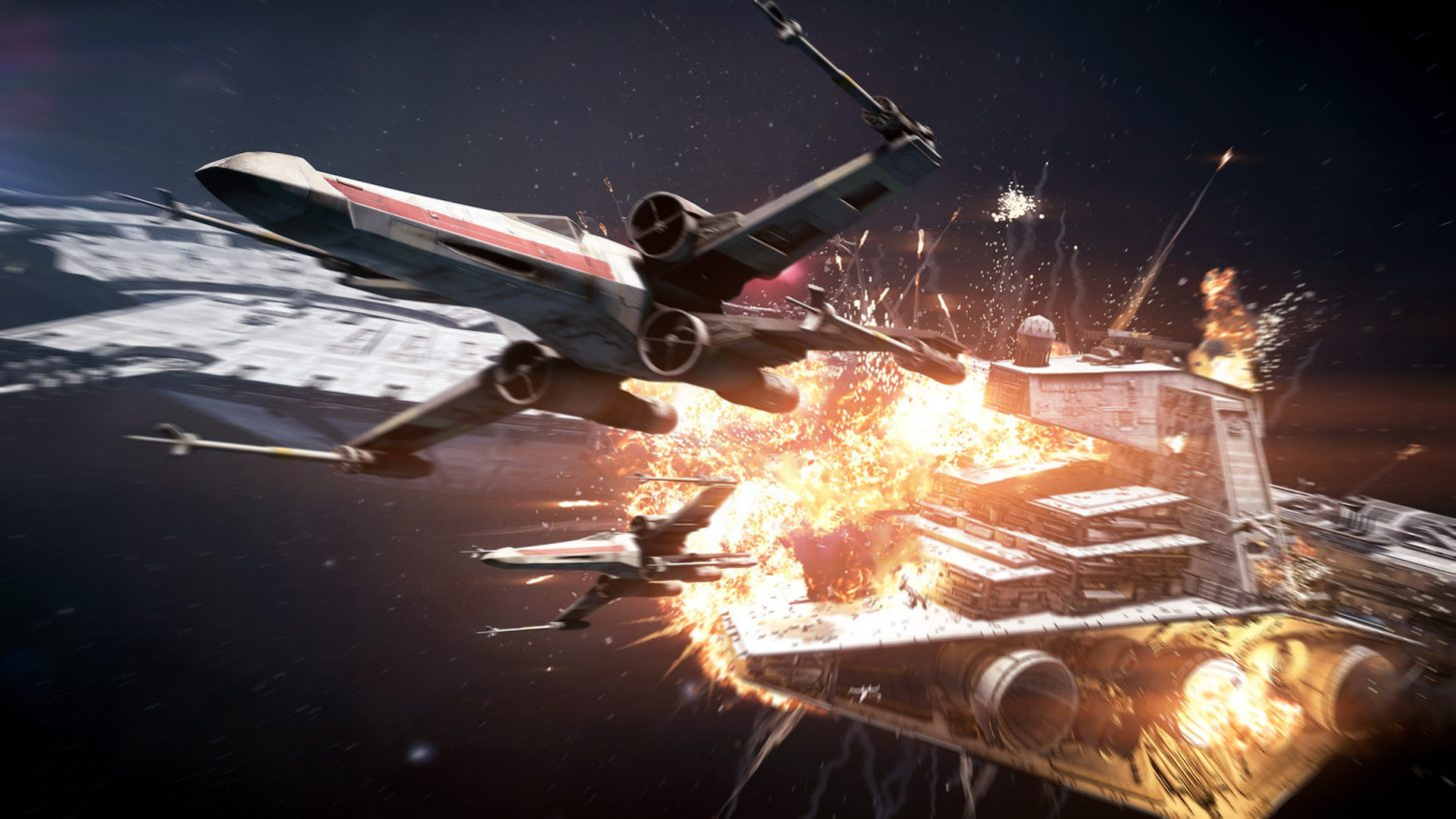Star Wars Battlefront 2: Starfighter Assault Gameplay Trailer Released