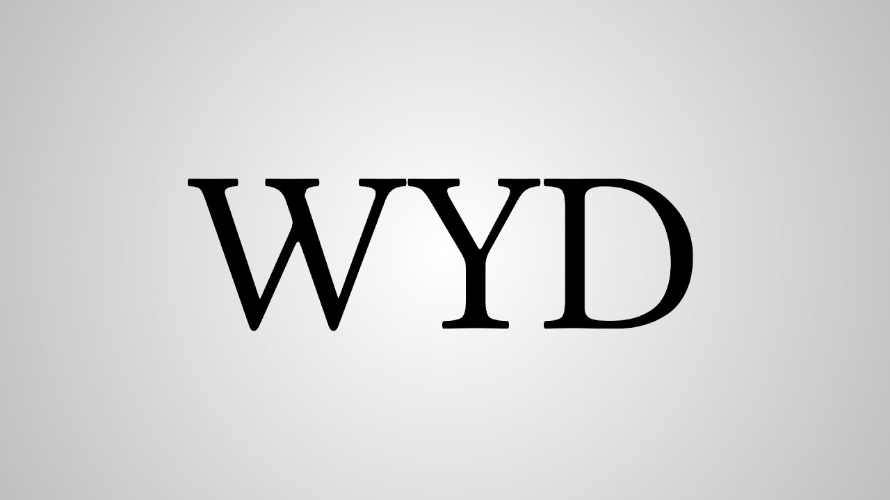 What Does Wyd Mean In (Texting/Instagram) 2019