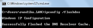 How to clear DNS cache in windows?
