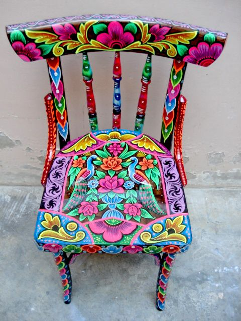 Painted Mexican FurnitureMexican Furniture