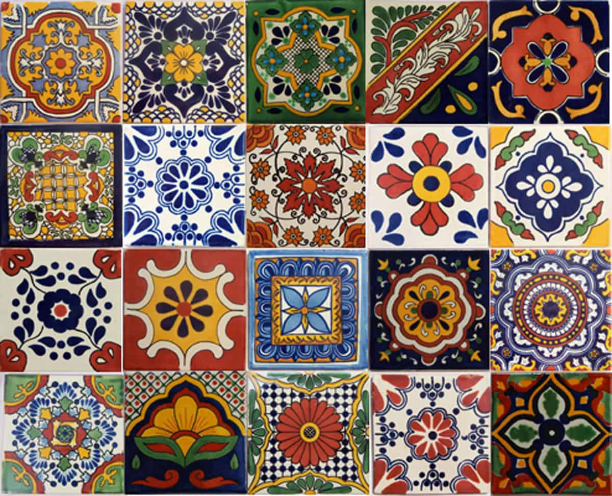 Mexican Tiles - Beautiful Mexican Ceramic Tiles