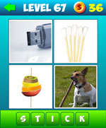 What's The Word: 4 pics 1 word Answer level 41 to 80