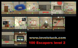 100 Escapers level 2