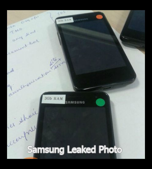 Samsung Prepare Smartphone with 3 GB RAM?