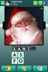 Christmas PICS Quiz Answers Level 1 to 20