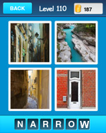 Guess The Word - 4 Pics 1 Word Answer level 81 - 120