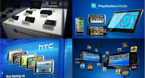 PlayStation Mobile Games Ready for HTC and Sony Xperia