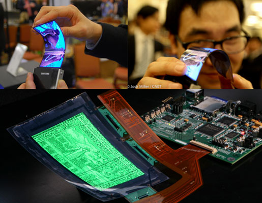 Samsung Flexible AMOLED Touch Screen Production Delayed