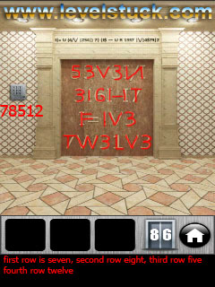 100 Doors 2013 Walkthrough Level 86 87 88 89 90 91 92 93 94 95