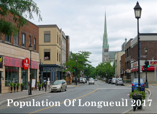 Population Of Longueuil 2017