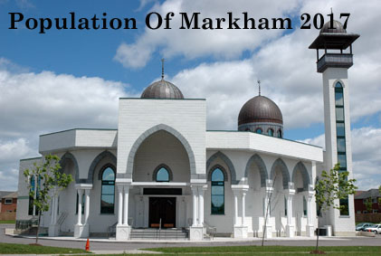 Population Of Markham 2017