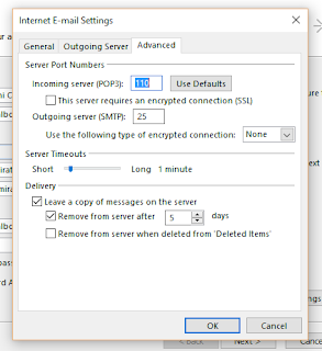 Etisalat UAE IMAP, POP3 and SMTP Email Settings