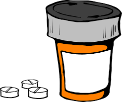 pill bottle cartoon