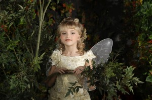 girl in fairy costume